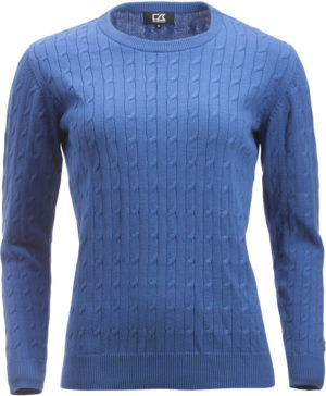 Blakely Knitted Sweater Lyseblå Dame