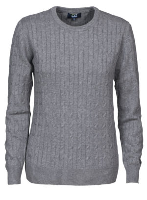 Blakely Knitted Sweater Grå Dame