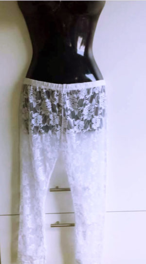 Leggings Hvid Dame