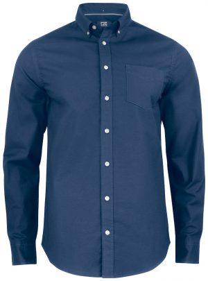Blå Skjorte Herre