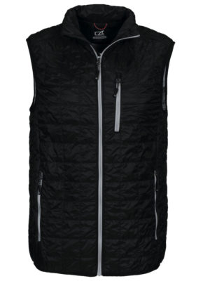 Rainier Vest Sort Herre